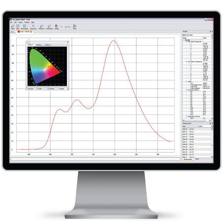 GL Spectrosoft Light Measurement Software