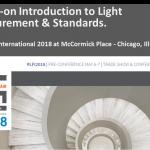 GL Optic workshops at the LFI 2018