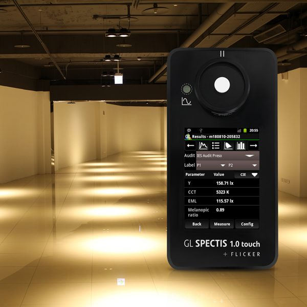 GL Spectis 1.0 Touch Flicker_performing Lighting Audit