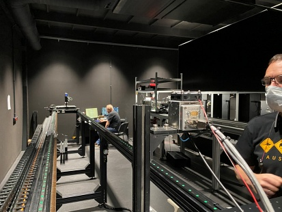 GL Optic calibration and light measurements Black Body radiator Detectors linearity correction
