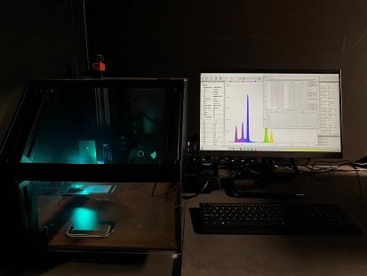 GL Optic calibration and light measurements Black Body radiator Wavelength calibration service
