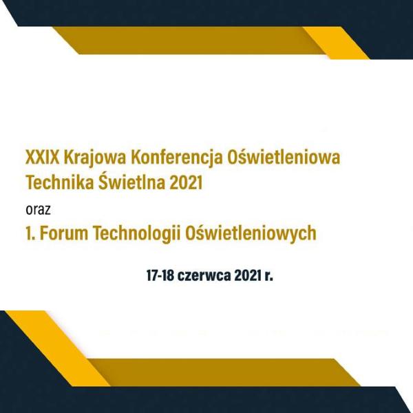 national lighting technology conference KKO krajowa konferencja oświetleniowa